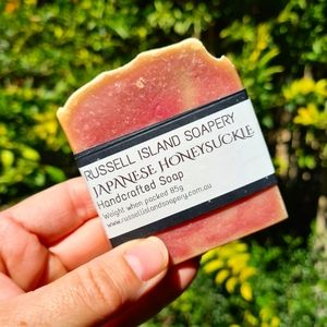 NEW Handcrafted Japanese Honeysuckle Soap 80g